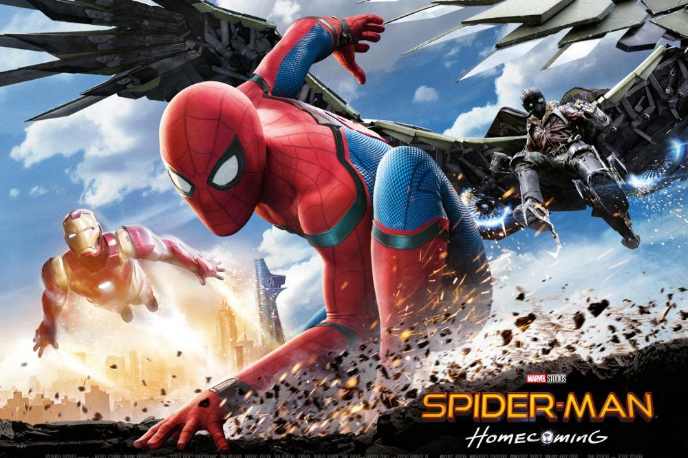 SpiderMan: Homecoming 2017